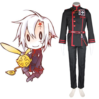 D.Gray-man Allen Walker 3RD Cosplay Costumes Deluxe Edition
