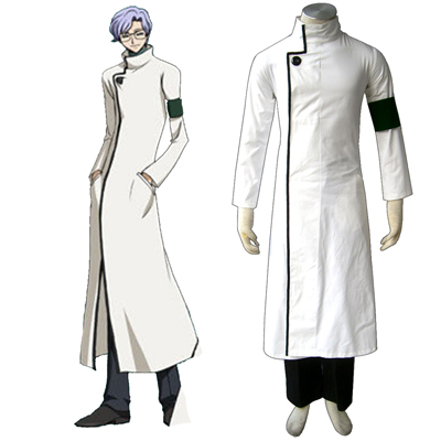 Code Geass Lloyd Asplund Cosplay Costumes Deluxe Edition