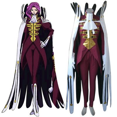 Code Geass Koneria·Ri·Buritania udklædning Fastelavn Kostumer
