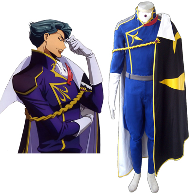 Code Geass Jeremiah Gottwald Cosplay Costumes Deluxe Edition