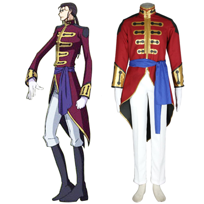 Code Geass Gilbert G.P. Guilford Cosplay Costumes