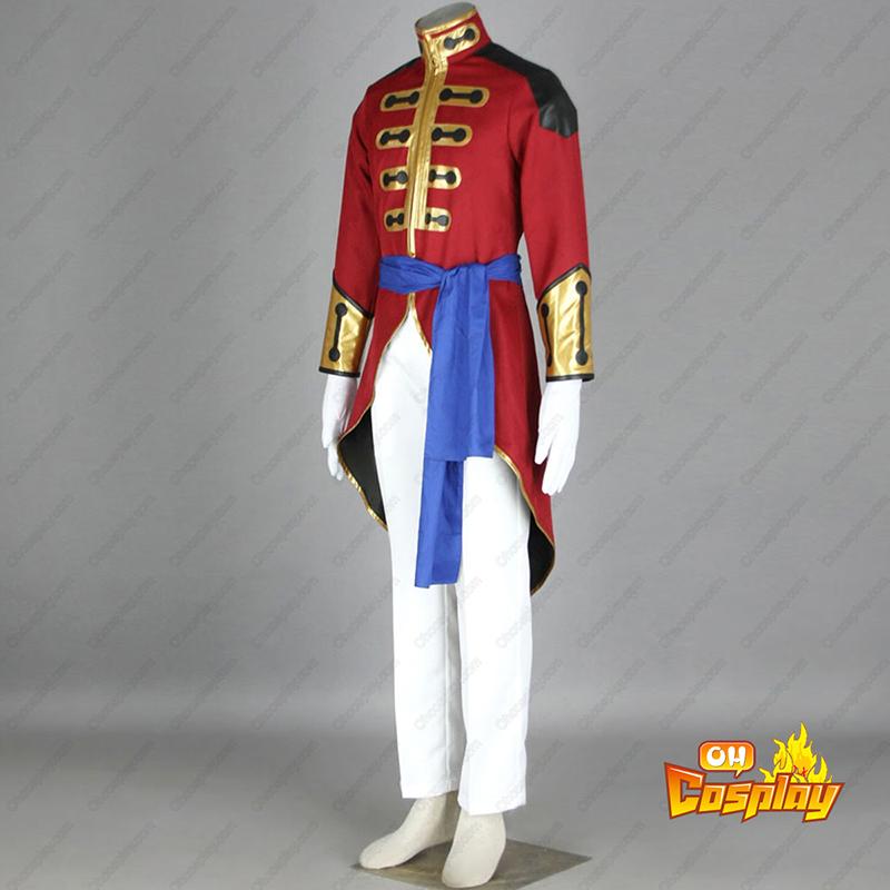 Déguisement Costume Carnaval Cosplay Code Geass Gilbert G.P. Guilford