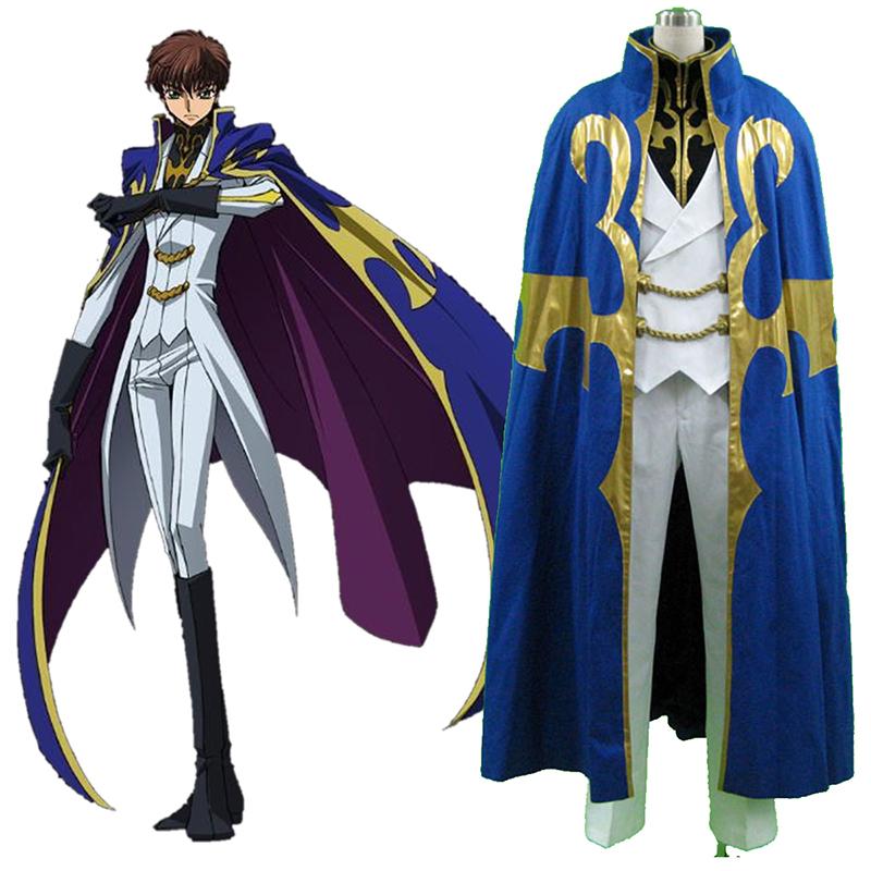 Code Geass Suzaku Kururugi 3 Cosplay Kostymer