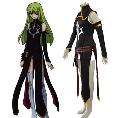 Code Geass C.C. 2ND Cosplay Costumes