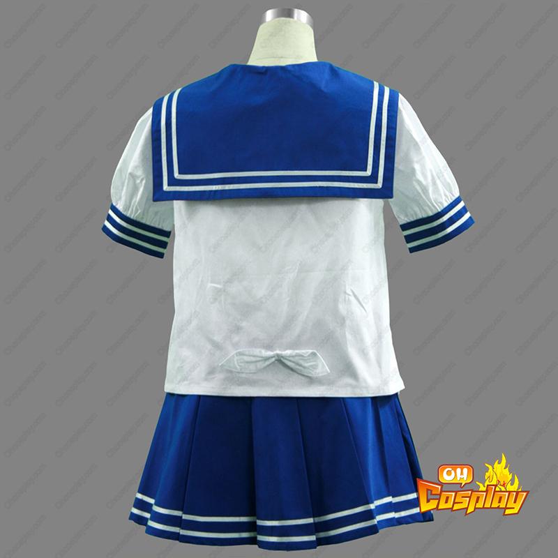 Lucky☆Star Hiiragi Kagami 1 Traje Cosplay