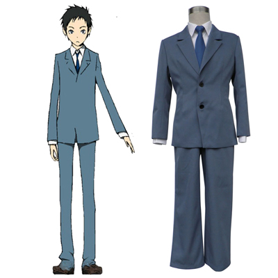 Durarara!! Raira Academy Men's School Uniform Cosplay Kostym