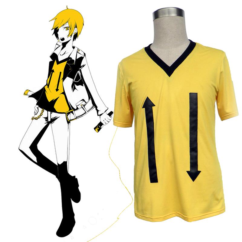 デュラララ!! Kida Masaomi 1 T-シャツ コスプレ衣装