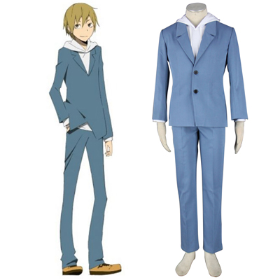 Durarara!! Kida Masaomi 2ND Cosplay Costumes Deluxe Edition