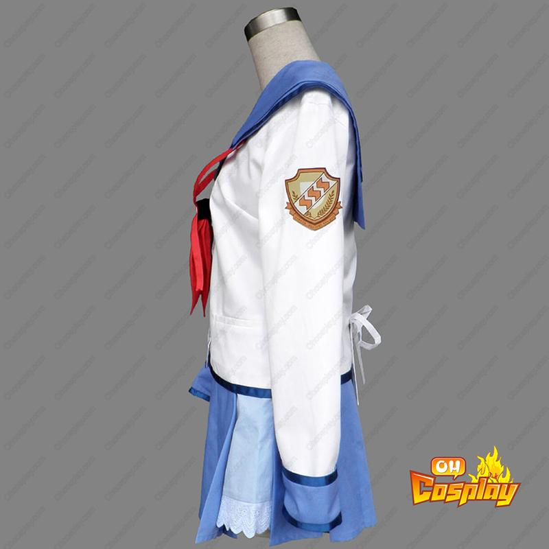 Angel Beats! Nakamura Yuri 1 Cosplay Kostymer