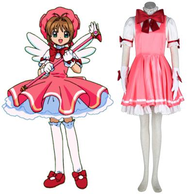 Cardcaptor Sakura Sakura Kinomoto 1ST Cosplay Costumes