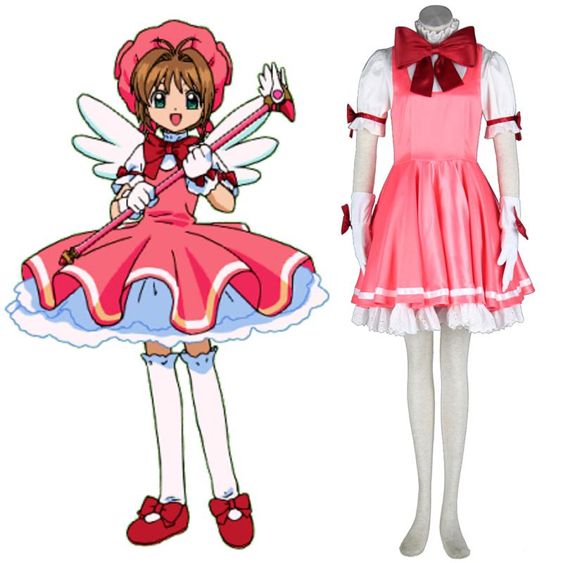 Cardcaptor Sakura Sakura Kinomoto 1 Cosplay Kostýmy