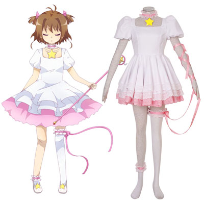 Cardcaptor Sakura Kinomoto Sakura 3 Traje Cosplay