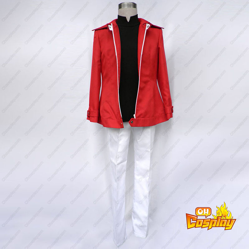 Yu-Gi-Oh! GX Jaden Yuki 1 Κοστούμια cosplay