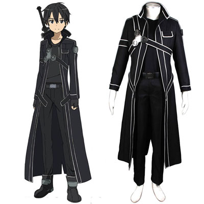Sword Art Online Kirigaya Kazuto 1 Cosplay Costumes UK