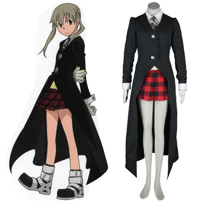 Soul Eater Maka Albarn 1 Black Cosplay Costumes UK