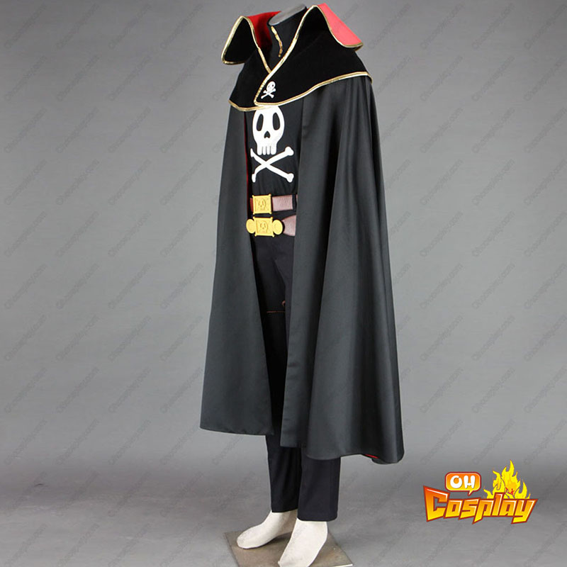Galaxy Express 999 Captain Harlock Κοστούμια cosplay