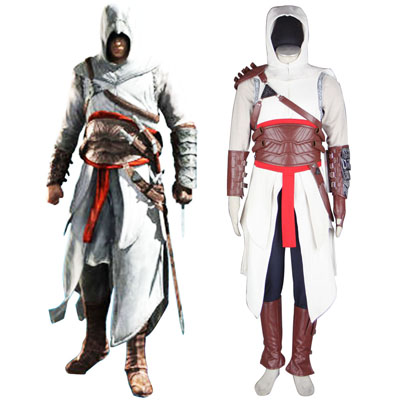 Assassin's Creed Assassin 1ST Cosplay Costumes Deluxe Edition