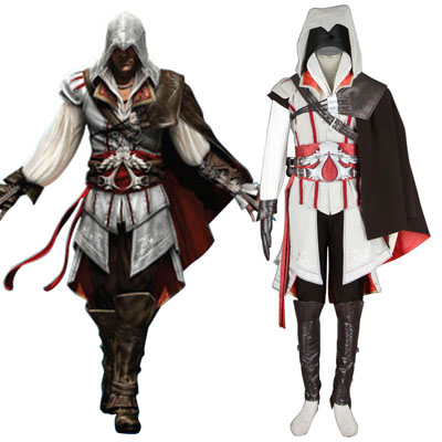 Assassins Creed II Assassin 2 Cosplay Kostym