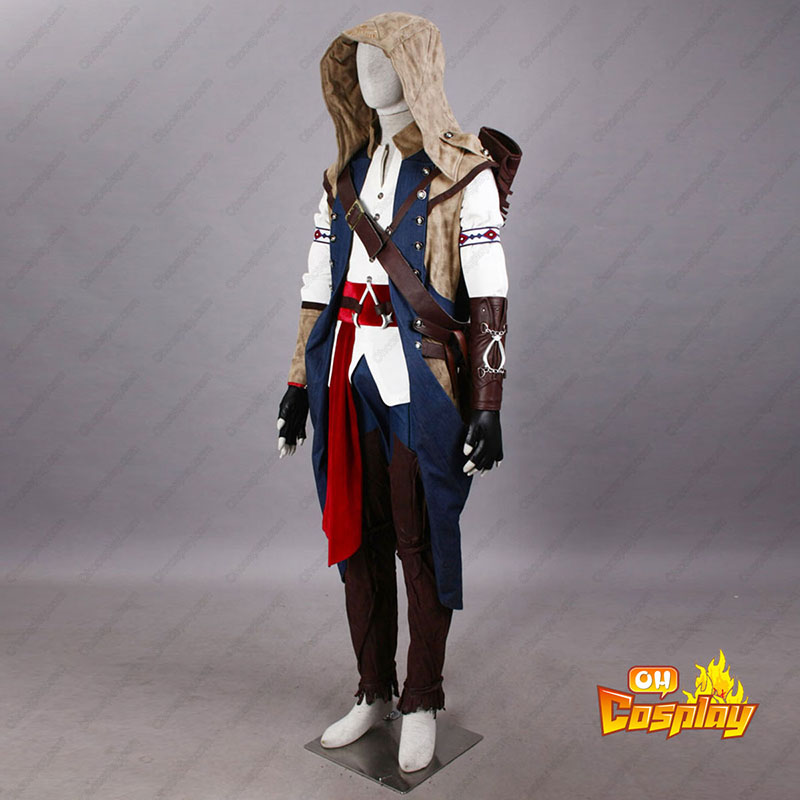 Assassin\'s Creed III Assassin 7 Cosplay Kostýmy