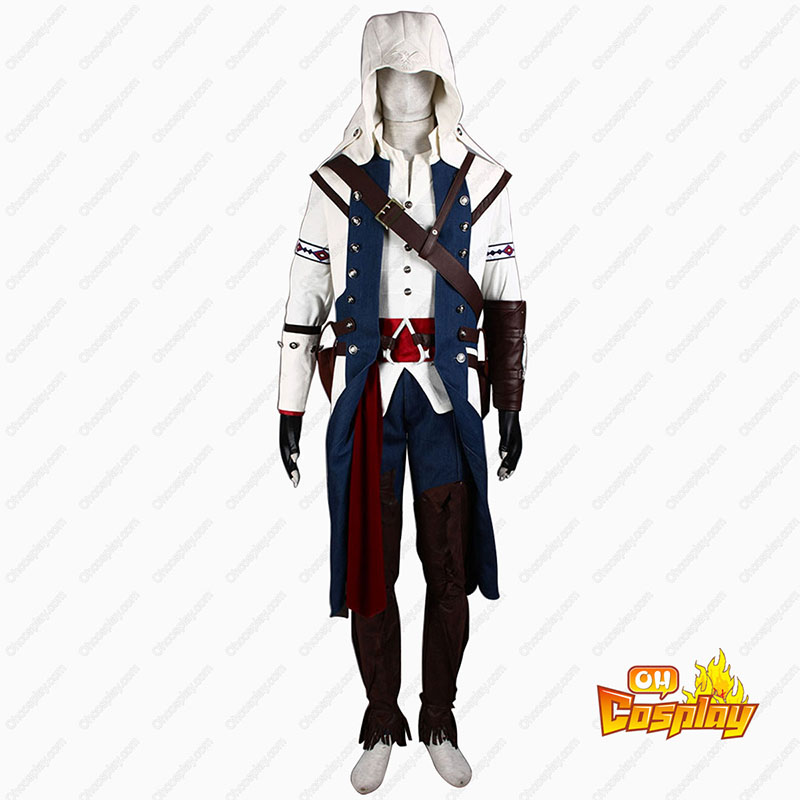 Assassin\'s Creed III Assassin 8 Κοστούμια cosplay