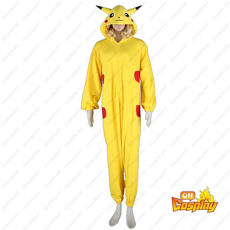 Pokémon Pikachu Pajamas 1 תחפושות קוספליי