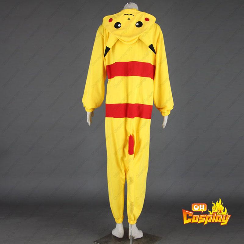 Pokémon Pikachu Pajamas 1 Κοστούμια cosplay