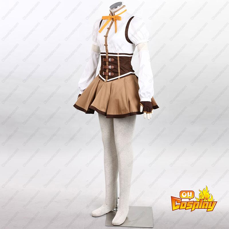 Puella Magi Madoka Magica Tomoe Mami 1 Cosplay Kostymer