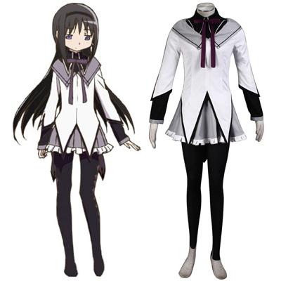 Puella Magi Madoka Magica Akemi Homura 1 udklædning Fastelavn Kostumer