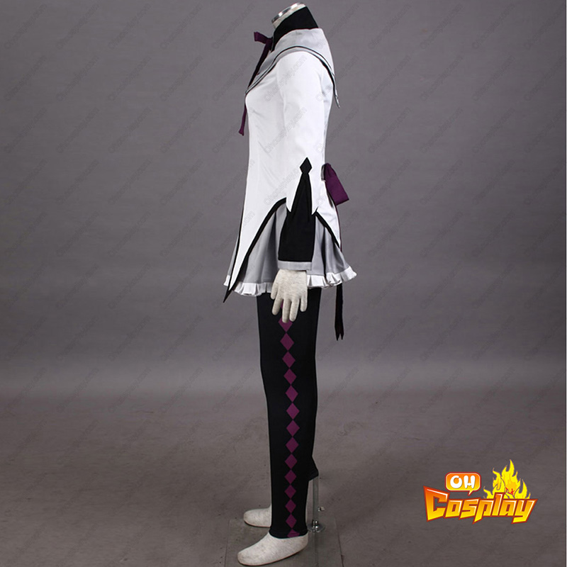 Puella Magi Madoka Magica Akemi Homura 1 Cosplay Kostymer