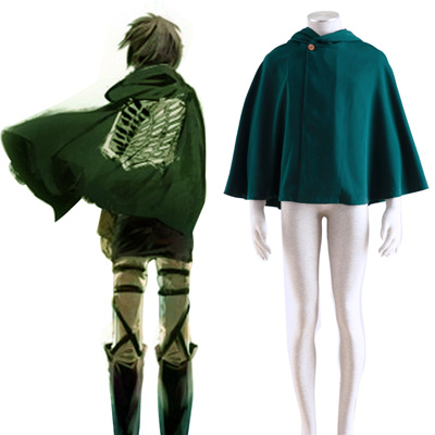Attack on Titan Survey Corps Cloak 2 Cosplay Kostym