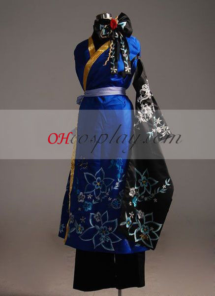 Vocaloid rem Yuet Wah Kaito Cosplay Costume-Advanced Aangepaste