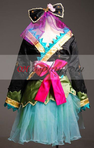Vocaloid Miku Project Diva HuaKui Kimono Cosplay Costume-Advanced Aangepaste