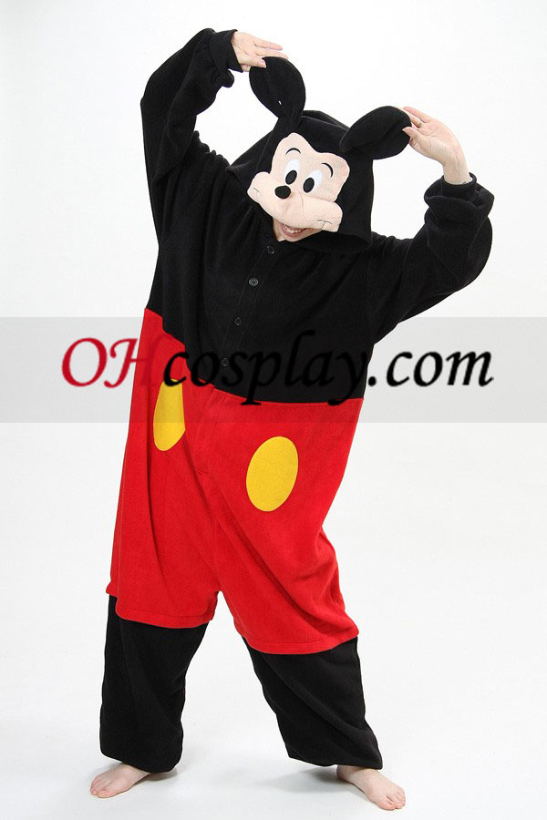 Mickey Kigurumi Kostüm Pyjamas