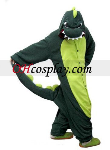Dinosaur Kigurumi Kostüm Pyjamas