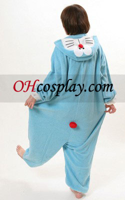 Doraemon Kigurumi Kostume Pyjamas