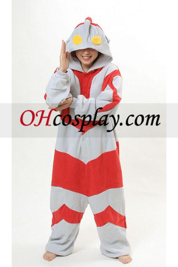 Ultraman Kigurumi Kostüm Pyjamas
