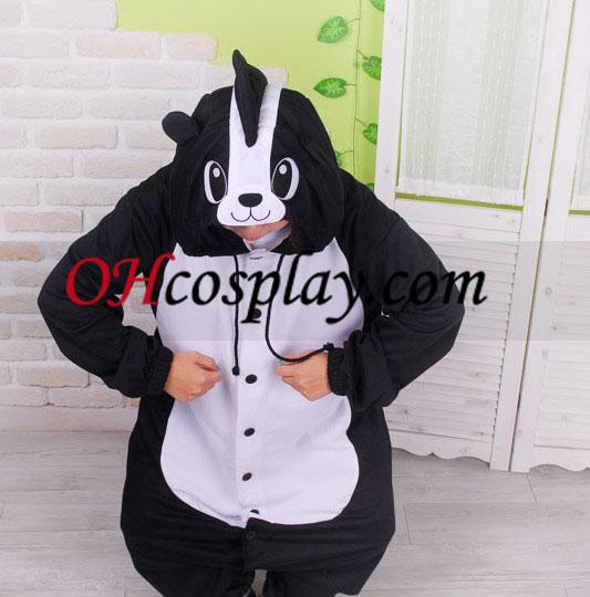 Søde Skunk Kigurumi kostume Pyjamas