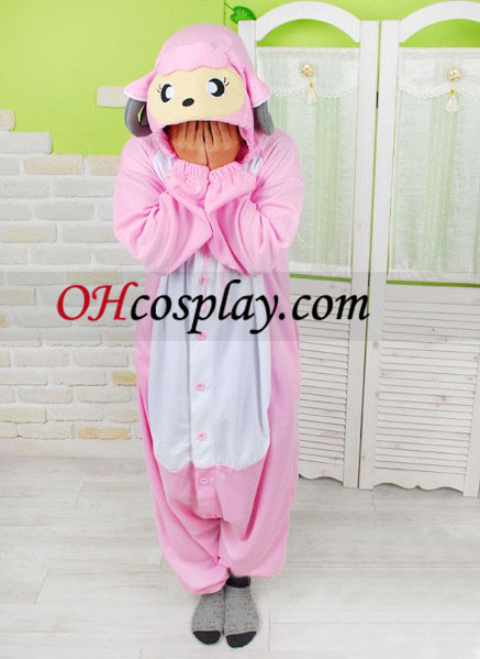 Sweet Sheep Kigurumi Costume Pajamas