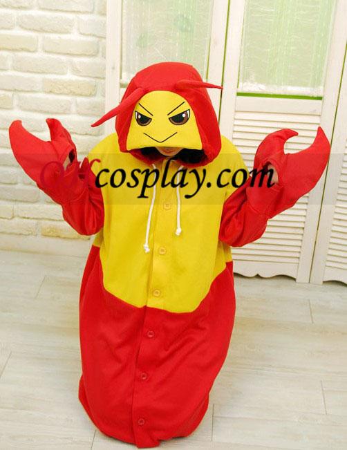 Lobster Kigurumi Kostume Pyjamas