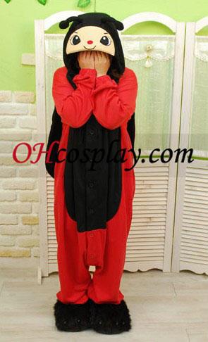 Ladybird Kigurumi Kostume Pyjamas