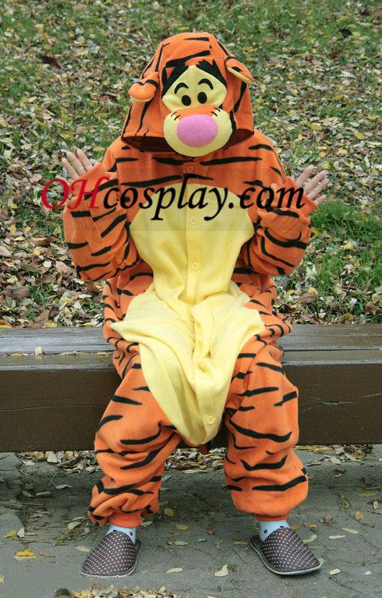 Tigger Kigurumi Kostüm Pyjamas