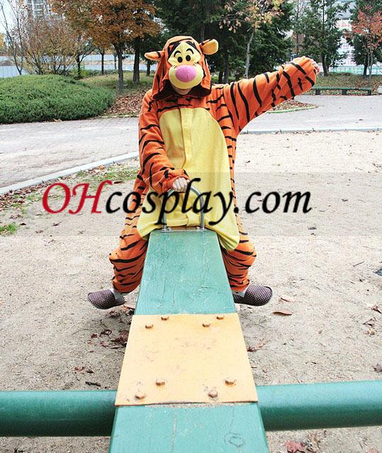 Tigger Kigurumi костюм пижами