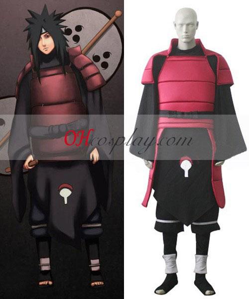 Naruto Shippuuden Uchiha Madara Cosplay Kostym