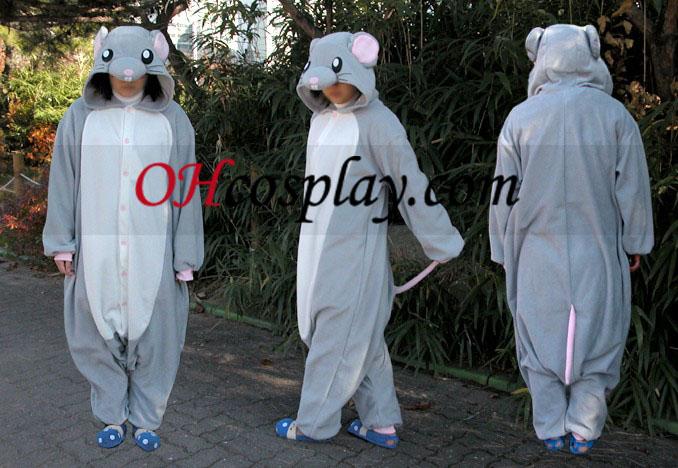 Mus Kigurumi Kostume Pyjamas