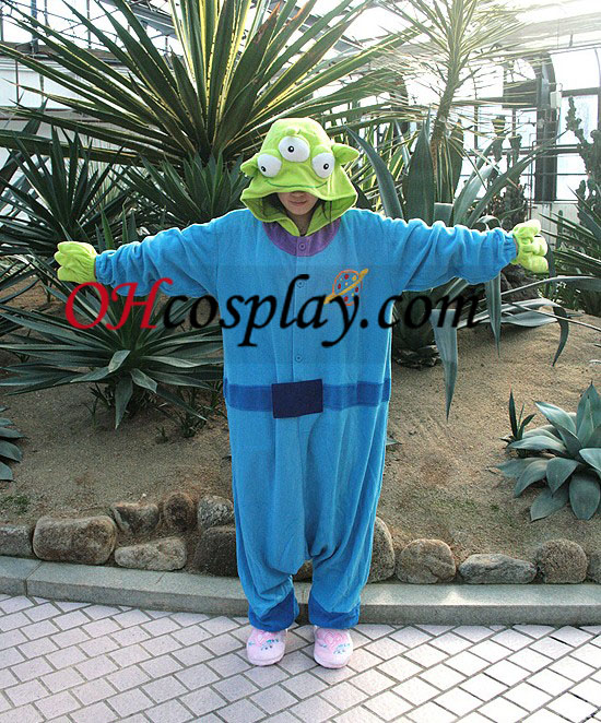 Three Eyes Monster Kigurumi Costume Pajamas