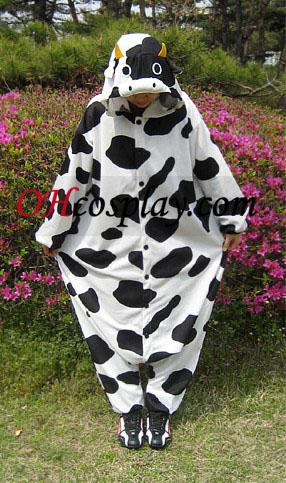 Млечните крави Kigurumi костюм пижами
