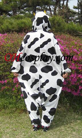 חלב פרה kigurumi תלבושות פיג\'מה