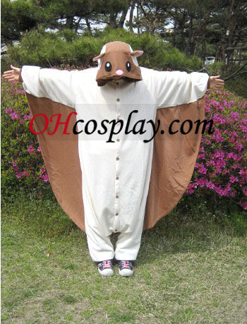 Flying Squirrel Kigurumi Costume pyjama