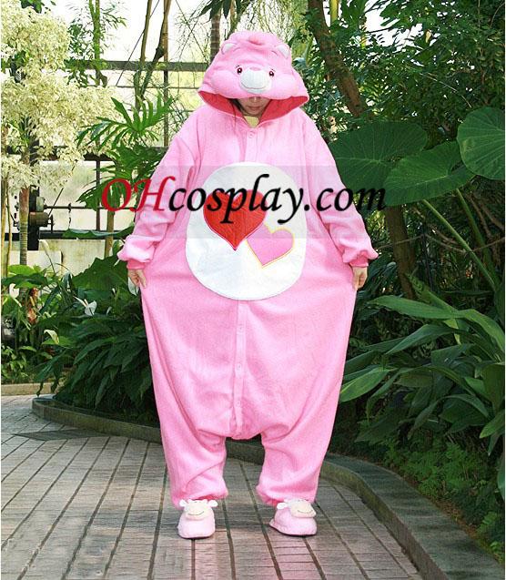 Amor muita roupa pijama Urso Kigurumi