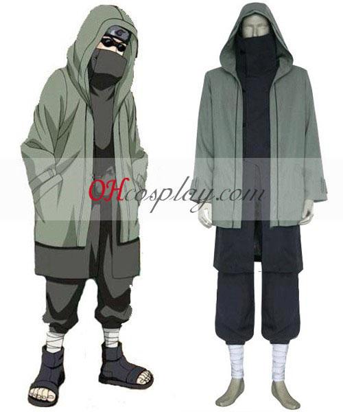Naruto Shippuuden Aburame Shino 2nd Cosplay Kostym